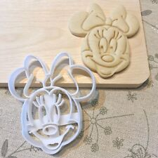 Minnie Mouse Cookie Cutter - Mickey Mouse Cake Cupcake Topper Baby Girl Birthday