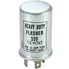 Blink Relais heavy duty flasher 550 KFZ Auto US Car retro 3 polig 12V Volt E15