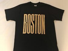 Vintage 80's Boston Gold Leaf 50/50 T-Shirt Size M/L