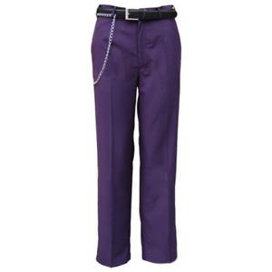 Batman Dark Knight Joker Purple Trousers Halloween Cosplay Costume Pants Only