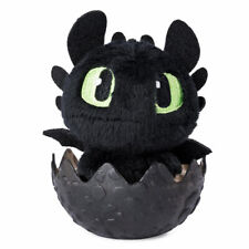 "DreamWorks How To Train Your Dragon The Hidden World: TOOTHLESS Egg 4"" Plush 4+"