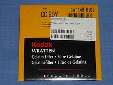 Kodak WRATTEN FILTRI 100x100 CC 20y
