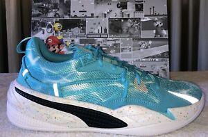 Puma RS-Dreamer Super Mario Sunshine Nintendo Blue Men Basketball Shoe Size US 7