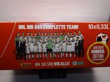 Coca Cola dosen WM 2014 LIMITIERTE EDITION team Deutschland NEU OVP
