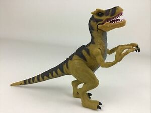 "Chap Mei Dinosaur Prehistoric Poseable Battle Velociraptor 5"" Figure Toy"