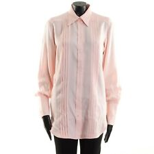 CELINE 990$ Pleated Shirt In Pink Viscose