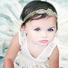 Fashion Baby Infant Princess Flower Girl Sparkle Rhinestone Hair Band Headband