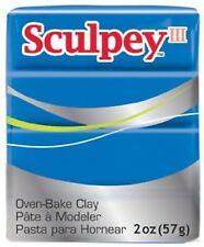 SCULPEY III - Polymer Clay - 57g - BLUE