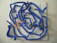 FOR Renault 5/R5 GT turbo silicone coolant hose Phase 2 1988-1991 BLUE