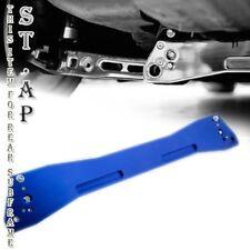 Honda Civic 96-00 Ek Lca Jdm Aluminum Rear Subframe Brace Sub Frame Bar Blue