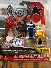 Power Rangers megaforce key set for legendary morpher zeo rare set