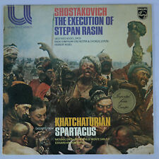 Shostakovich-The Execution of Stepan Rasin & Khatchaturian-Spartacus/Philips NM