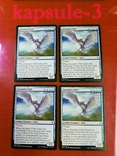 4x Arcanist's Owl | Throne of Eldraine | MTG Magic The Gathering Cards