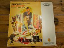 VIVRE ET LAISSER MOURIR ROGER MOORE LASERDISC PAL LD EX COVER EX ORIGINAL 1973
