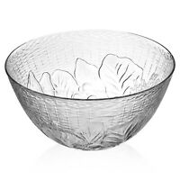 Duralex 28cm Large Toughened Glass Vegetable Fruit Salad Mixing Serving Bowl NEW