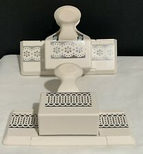 Martha Stewart DOILY LACE TRIM Linked Trim Edge Border Punches Paper Punch Lot