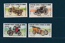 Comores république   vieilles voitures  automobiles    1984   poste  **