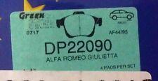 Alfa Romeo Giuletta 1.4L turbo 2010 EBC Greenstuff DP22090 Front brake pads