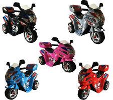 Elektrokindermotorrad Kindermotorrad auto Motorrad mit Musik-Räder EVA LEDERSITZ Batteriebetriebene Fahrzeuge