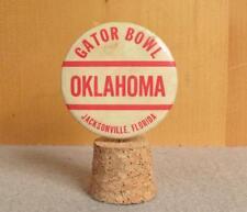 Vintage Oklahoma Sooners College Football Gator Bowl Pin Button NCAA Pinback