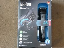 Braun BT5070 Beard Trimmer Rechargeable Cordless Washable w/ Precision Dial