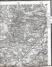 Kronach Küps Johannisthal 1910 kl. orig. Teilkarte/Ln. TK50 Schmölz Hummendorf