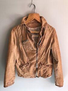 GIORGIO BRATO Brown Leather Jacket sz 42