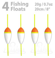 4 pcs Foam Fishing Float 20g - 2/3oz - Inline Carp, Pike, Catfish, Bass Fishing