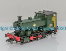 H4-AB14-002, OO Gauge, Andrew Barclay 0-4-0ST 705 in GWR shirtbutton green