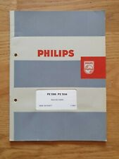 Philips PE-1500 PE-1504 Instruction Manual Owners Manual Original De...