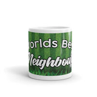 Worlds Best Neighbour - Football Sports Ball Coffee Tea Mug #12215