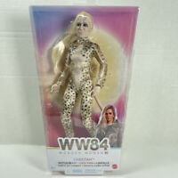 Mattel DC WONDER WOMAN WW84 BATTLE READY CHEETAH DOLL Kristen Wiig TOY NEW NIP