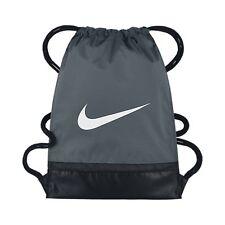 0fb1656487d6f Nike Kinder Sportbeutel Gymbag NIKE BRASILIA GYMSACK grau   schwarz   weiß