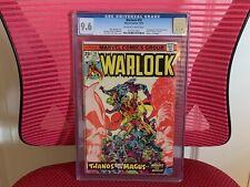 Warlock #10 CGC 9.6 Thanos The Magus Gamora In-Betweener