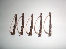 PLAYMOBIL caccia fucili fucile doppietta fucile Dino Ranger 5 pezzi con cinturino