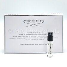 CREED White Amber Man Eau De Parfum Spray Sample Vial 0.08 oz/2.5 ml New On Card