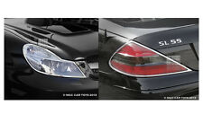 Mercedes SL 2009-2012 Taillight & Headlight Chrome Trim Surround
