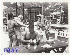 Tony Curtis Reg Lewis barechested VINTAGE Photo David Draper Chester Yorton