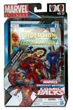 Marvel Universe Greatest Battles Comic Packs Spider-Man & Captain Britain