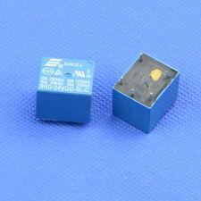 100PCS Mini Power Relay 24V DC coil SRD-24VDC-SL-C SONGLE PCB type electromagnet