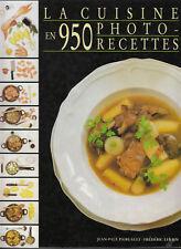 Livre la cuisine en 950 photo-recettes J.P.Paireault book