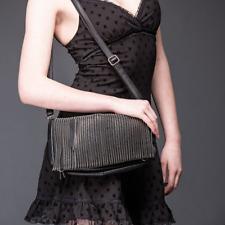 Queen of Darkness Black Zipper Bag - 2520/s