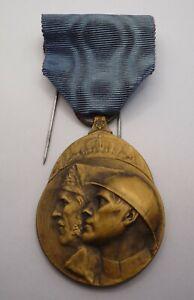 BELGIUM / BELGIAN WW1 VOLUNTEER COMBATANTS MEDAL 1914 - 1918