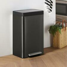 New listing The Container Store Kohler Black Stainless Steel 13 gal Step Trash Can #10076316