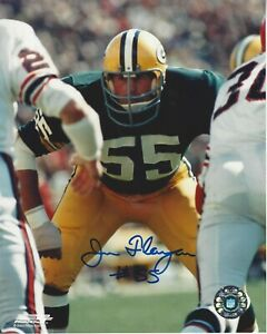Jim Flanigan Green Bay Packers Autographed 8x10 Photo