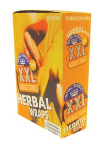 Royal Blunts XXL Herbal Wraps Mango Tango 25 packs -2 per pack