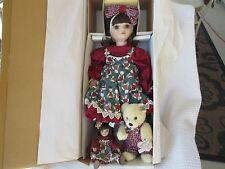 MARIE OSMOND DOLLS Lot of 3 Girl, Tiny Tot, & Annette Funicello Bear