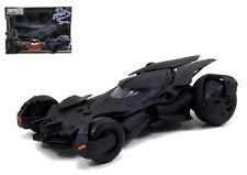 JADA 1:24 NEW BATMAN V SUPERMAN MOVIES BATMOBILE MODEL KIT BLACK DIECAST 97781