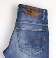 G-Star Brut Hommes Slim Jean Taille W28 L32 AMZ1189