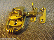 "Sellers Cabinet Brass "" S "" Latch , Left Hand latch reproduction"